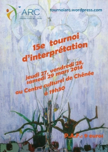 Affiche tournoi 2014